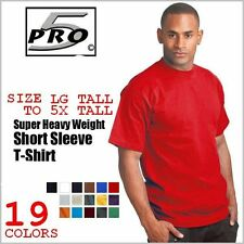 PRO 5 SUPER HEAVYWEIGHT SHORT SLEEVE TALL T-SHIRT FREE SHIPPING SM-7X