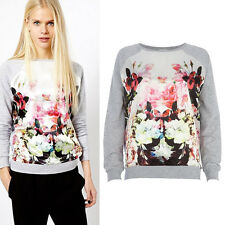 New Womens Hoodie Sweatshirt Casual Tops Blouse Pullover Jacket Coat Outerwear