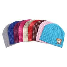 Cute Infant Baby Boys&Girls Kids Bear Polka Dots Beanie Candy Color Hat Cap BEt
