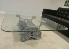 Engine Block Coffee Table by BlockHead Designs