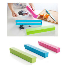 Plastic Wrap Cling Sickle Cutter Food Storage Holder Blade Cutter Kitchen Tool