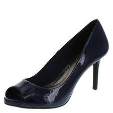 Dexflex Women's Shoes KARMICHAEL Peep Toe Pump BLUE