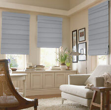 Hanna Fabric Roman Shades 10 Colors Free Shipping - 1800 Series
