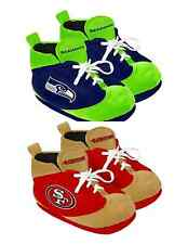 NFL Football Team Logo 2014 Colorblock Sneaker Slippers - Pick Your Team