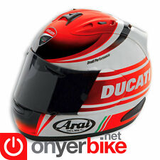 Ducati Racing Stripes Arai RX7 GP 2015 Full Face Race Motorcycle Helmet S M L XL
