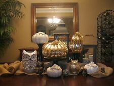 Table Centerpiece Home Decor Just-Like Pottery Barn Thanksgiving Halloween Decor
