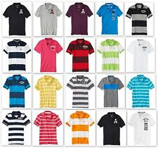New AEROPOSTALE Men embroidery AERO Graphic A87 Polo Rugby polo Button shirt