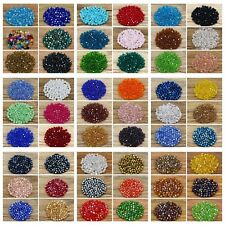 5301# 4 mm Swarovski  Crystal beads Charm Color & Quantity optional (55 colros)