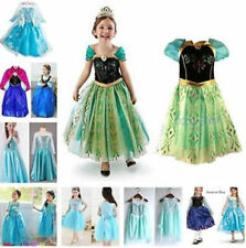 Congelato Elsa Costume Ice Princess Queen Dress Size 3-8Y