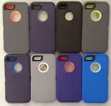 New GENERIC Heavy Duty Case Cover For Iphone 5 5S + Optional Screen Protector