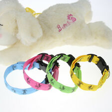 STOCK 4 Color Funny Safety Harness LED Flashing Light Nylon Puppy Pet Dog Collar