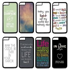 """One Direction Quotes For Apple 4.7"""" iPhone 6 Case Hard Plastic Back Cover"""