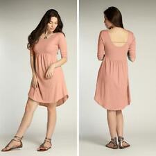 NWT Indigenous Organic Cotton Peach Sunny Day Dress   70% Off Retail