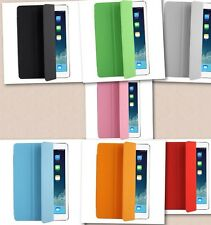 3-folding Polyurethane Smart Cover for FUNDA PARA iPad Air - 7 COLORS