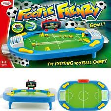 NEW KIDS FOOTBALL GAMES CHILDRENS TABLE TOP FOOTIE FRENZY ACTIVITY FUN TOY GAME