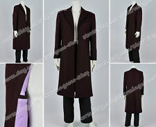 Who Purchase Doctor Cosplay The Bells Of Saint John Dr 11th Costume Trench Coat