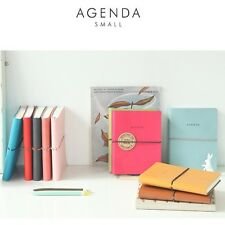 Diary Agenda S 2014 Undated Planner Daily journal monthly Journey schedule Korea