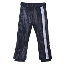 Dolce & Gabbana Black Breathable Waterproof Water-Repellent Snow Pants Sz 36 40