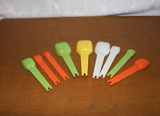 Tupperware Measuring Spoons #3 ~Choice of Colors & Size ~ FREE SHIPPING