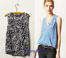 NEW Sz S Anthropologie Midline Mesh Top By Sweet Pea by Stacy Frati versatile