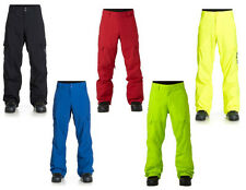 DC BANSHEE SNOWBOARD PANTS 2015 Caviar Rio Red Safety Yellow Lime Mazarine Blue