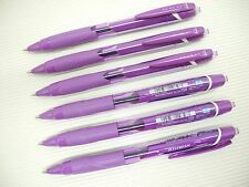 6Pcs Uni-Ball JetStream SXN-150C Retractable 0.7mm Ball Point Pen, VIOLET