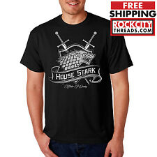 HOUSE STARK T-SHIRT game of thrones tshirt hbo winter is coming shirt winterfell