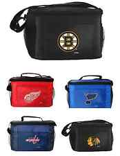 New 2014 NHL Hockey Licensed Lunch Bag -Insulated Box Tote - 6 Pack Cooler