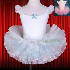 Quality Ballet Tutu Dance Costume Fancy Party Dress Up Children Kid Size 3-7 042