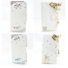 1x HOT 3D bling leather wallet card flip diamond skin case cover SONY XPERIA Z3