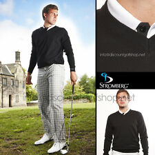 ex DISPLAY STROMBERG TROUSER CO. FUNKY RIVERIA SWEATERS/JUMPERS - BLACK