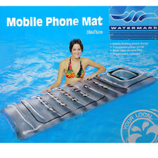 Inflatable Air Mobile Phone mat Mattress float floating for swimming pool Water