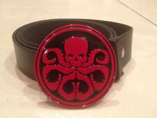 HAIL HYDRA logo metal BUCKLE + FREE BELT marvel agents of shield S.H.I.E.L.D