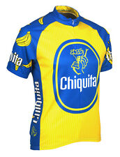 SALE Chiquita Banana Cycling Jersey by Retro Image Men's Short Sleeve with Socks