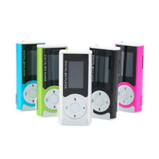 Mini USB Clip MP3 Media Player LCD Screen Support 16GB Micro SD TF LED Light GT