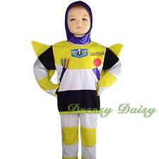 Buzz Lightyear Hero Fancy Theme Halloween Party Costume Kid Size 2 3 4 5 6 #024