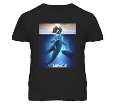 Big Miracle 2012 Movie Poster T Shirt Sizes Small to 5XL 100% Preshrunk Cotton