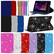 New Stylish Leather Stand Folding Folio Case Cover Pouch For All 7 Inch Tablets