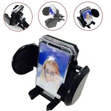 UNIVERSAL IN CAR AIR VENT 360° HOLDER MOUNT CRADLE FOR LATEST MOBILE PHONES