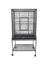 YML Aviary Bird Cage 30.5L x 18.5D x 61H With Stand, AV3018
