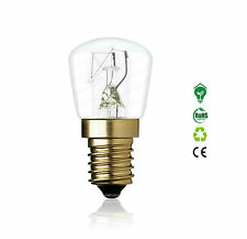 Pygmy Clear Oven Light Bulb 240V E14 SES 15W 25W Long Life Lamp 1000 Hours 300C