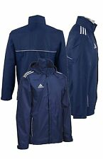 Adidas Training Rain Jacket Core 11 Navy ZIP POCKETS Men