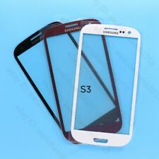 Front Outer Lens Glass Touch Screen For Samsung Galaxy S3 SIII i9300 + Adhesive
