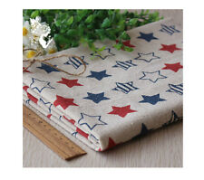 Cotton Linen pattern Cloth PatchworkDIY Craft Sewing quilting Fabric L1743-L1745