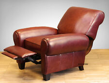 NEW Barcalounger Lectern II Recliner Lounger Chair - Whiskey Top Grain Leather