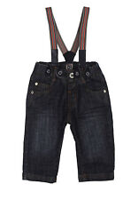 Steiff jeans with suspenders, blue, boy, 62-116