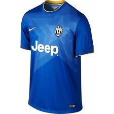 Nike Juventus FC Season 2014-2015 Away Soccer Jersey Brand New Royal Blue