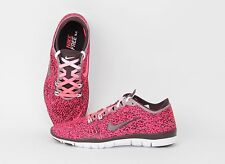 Nike Women Free 5.0 TR FIT 4 PRT Hyper Punch/ Burgundy/ White 629832-604 Sale