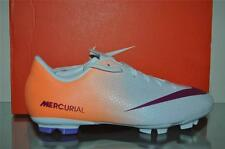 Nike JR Mercurial Victory IV FG Soccer Cleats 553631 168 Orange/White Youth Szs