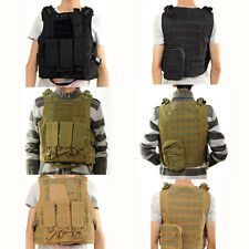 Sport MOLLE Military Vest Cycling Camping Waistcoat Equipment Amphibian Vests